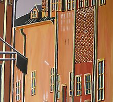 Stockholm Old Town by Pamela E. Norwood