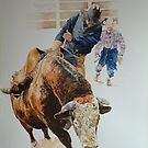 Bullriding by David McEwen