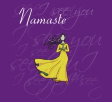 Namaste I see you by Caryn Colgan