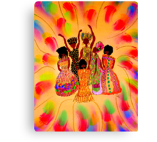 Sisterhood in FULL Effect Canvas Print
