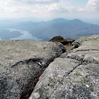 The Top of Whiteface - Lake Placid New York by Debbie Pinard