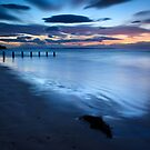 Moody Blues and Gloaming Light, Findhorn by Christopher Thomson