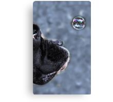 It's A Bubble -Boxer Dog Series- Canvas Print