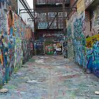 graffiti Warehouse by Chris Capizzi