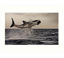 Air Jaws Art Print