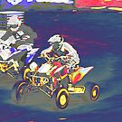 ATV Racing by Karol Livote
