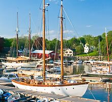 Harbor at Camden, Maine by Kenneth Keifer