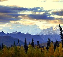 Mt. Mckinley at Sundown ~ Alaska by lanebrain photography