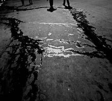 Walking by Jeffrey  Sinnock