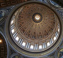 St. Peter's Ceiling by Liz Smith
