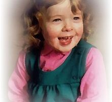 PORTRAIT OF A DAUGHTER AS A YOUNG GIRL by Terry Collett