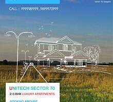 Unitech South Park New Launch Sector 70 Gurgaon by guptapromoters