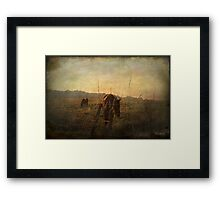 A new day dawning ... Framed Print