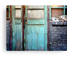Welcome Home in Beijing Canvas Print