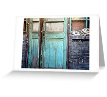 Welcome Home in Beijing Greeting Card