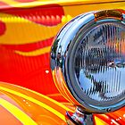 One Flaming Headlight by Norman Repacholi