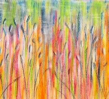 Whispering Reeds in Sunshine by Kathie Nichols