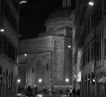 San Lorenzo at Night by Hollyis