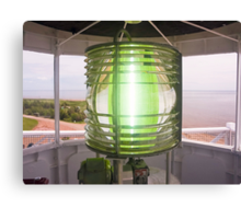 Fresnel Lens, West Point Lighthouse, PEI, Canada Canvas Print