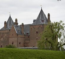 Castle Loevestein outside the Wall 2 by Jacqueline van Zetten