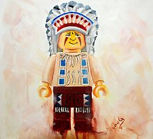 lego Big Chief by Deborah Cauchi