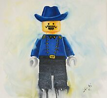lego Cavalry Soldier by Deborah Cauchi
