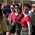 Red Ladies, Goodwood Revival, 2011 by herbpayne