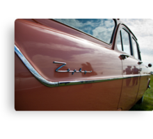 Red Ford Zephyr, Goodwood Revival, 2011 Canvas Print