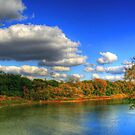 Autumnal Shoreline by Larry Trupp