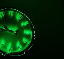 Clock Work - Green by Doublea42
