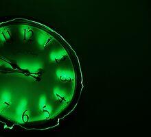Clock Work - Green by Doublea42
