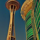 USA. Seattle. Space Needle. by vadim19