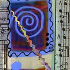 The Spiral Pane Moves to Music by © Angela L Walker