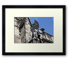 Watching over Eastern State Penitentiary Framed Print
