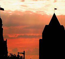 Milwaukee Sunset © by Dawn M. Becker