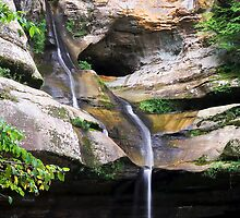 Cedar Falls, Hocking Hills, Ohio by Kenneth Keifer