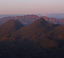 Wilpena & Elder Range in Dawn Light by pablosvista2