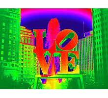 Colorful Love Photographic Print