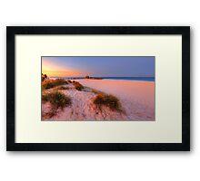 Sunset Glow at Currumbin Framed Print