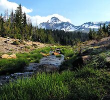 Broken Top Three Sisters Wilderness, Oregon by Don Siebel