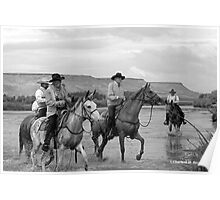 COWBOYS OF THE OREGON TRAIL Poster