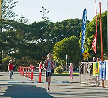 Kingscliff Triathlon 2011 Finish line B5918 by Gavin Lardner