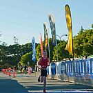Kingscliff Triathlon 2011 Finish line B5920 by Gavin Lardner