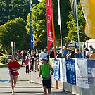 Kingscliff Triathlon 2011 Finish line B5948 by Gavin Lardner