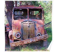 Meet Rusty, the old Thornycroft Trusty Poster