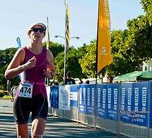 Kingscliff Triathlon 2011 Finish line B6009 by Gavin Lardner
