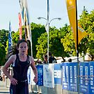 Kingscliff Triathlon 2011 Finish line B6014 by Gavin Lardner