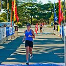 Kingscliff Triathlon 2011 Finish line B6044 by Gavin Lardner