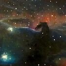 Nebula Triptych; Lagoon, Horsehead, Orion by Alizey Khan