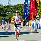 Kingscliff Triathlon 2011 Finish line B6222 by Gavin Lardner